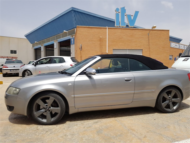 Audi A4 Cabrio at ITV Test Centre