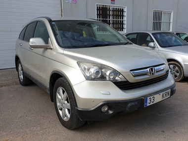 Honda CR-V with new Spanish plates