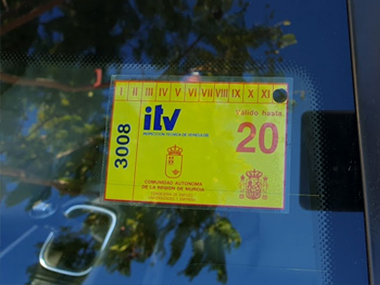 ITV import sticker for 2020
