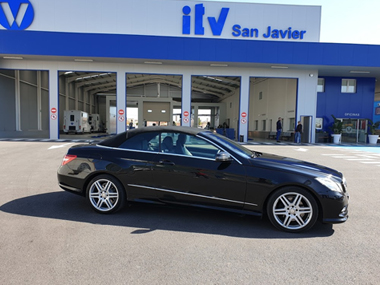 Mercedes E250 AMG Cabrio passes ITV test in Murcia