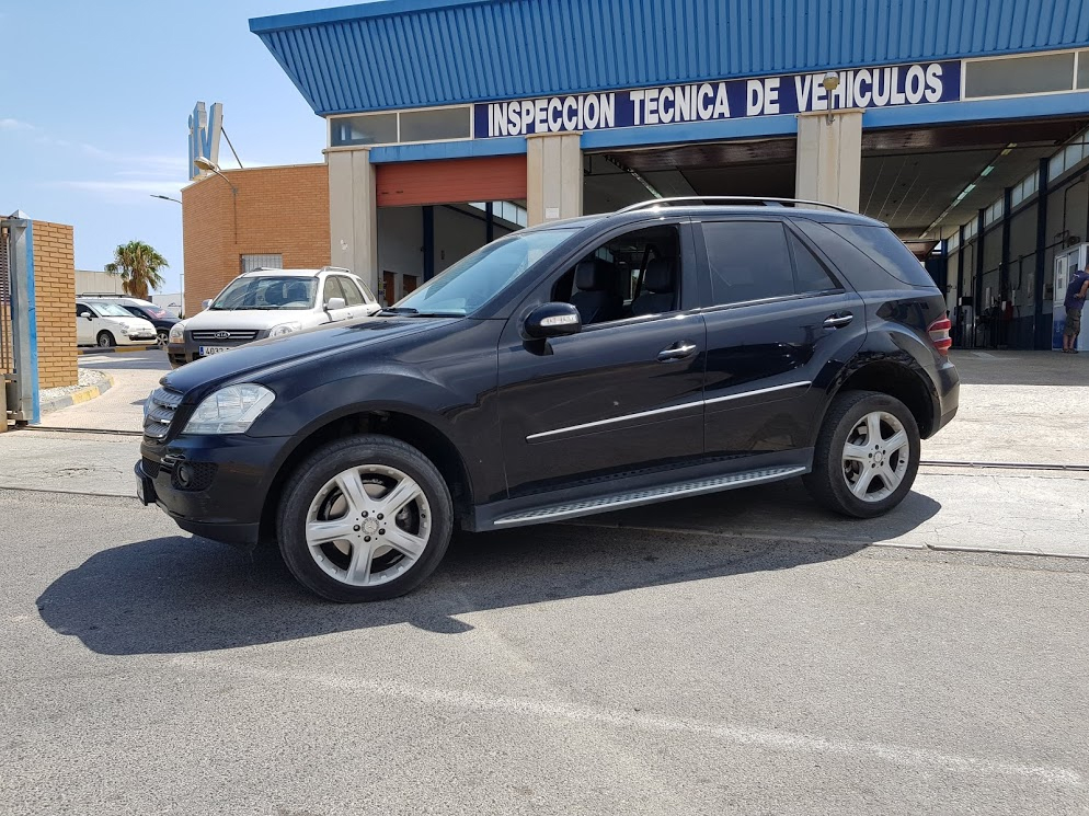 Mercedes ML320 at ITV