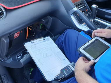 Peugeot 3008 Diagnostic check