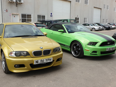 BMW M3 & Ford Mustang